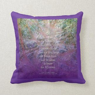 Serenity Prayer Incense Cedar American MoJo Pillow