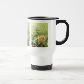 Serenity Prayer  La Oración de la Serenidad Travel Mug