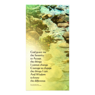 Serenity Prayer Little Creek Picture Card