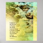 Serenity Prayer Little Creek Poster
