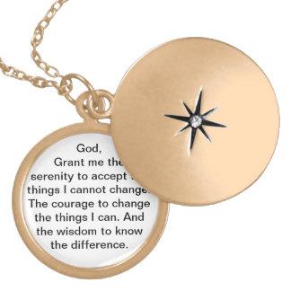 Serenity Prayer Locket