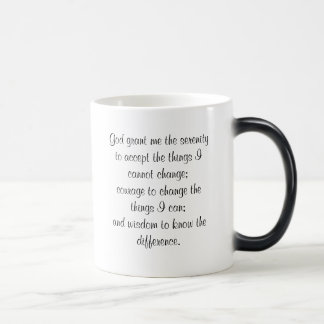 Serenity Prayer Magic Mug