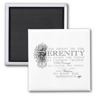 Serenity Prayer Magnet