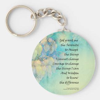 Serenity Prayer Manzanita Basic Round Button Keychain