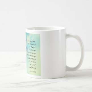 Serenity Prayer Manzanita Coffee Mug