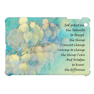 Serenity Prayer Manzanita iPad Mini Cases