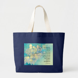 Serenity Prayer Manzanita Large Tote Bag