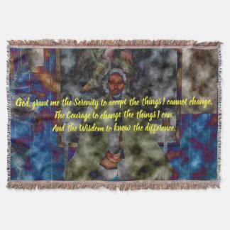 Serenity Prayer - Meditation Blanket