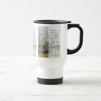 Serenity Prayer Old Barn Travel Mug