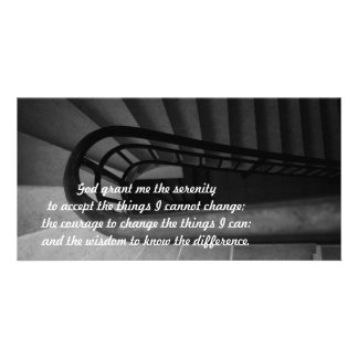 Serenity Prayer Photo Card