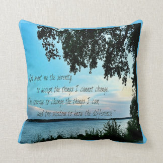 Serenity Prayer Pillow