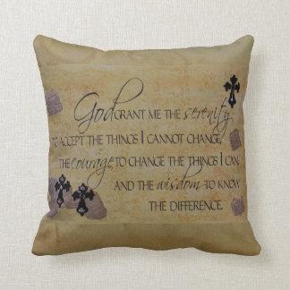 Serenity Prayer Pillows