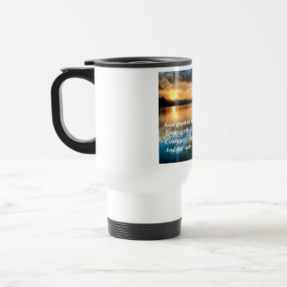 Serenity Prayer Scenic Travel Mug