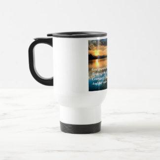 Serenity Prayer Scenic Travel Mug