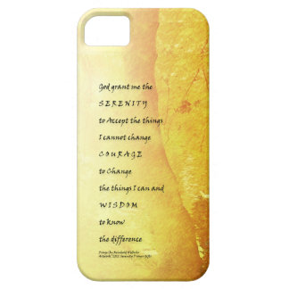 Serenity Prayer Tree and Ducks iPhone 5 Cover
