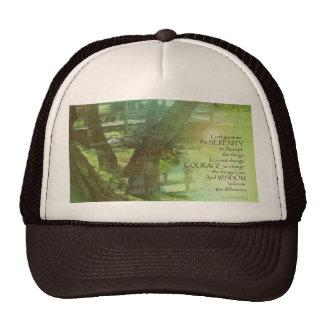 Serenity Prayer Trees, Water, Bridge Trucker Hat