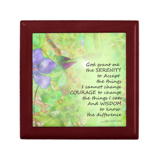 Serenity Prayer Vinca Glow Gift Box