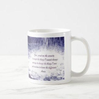 Serenity Prayer  Waterfalls Mug