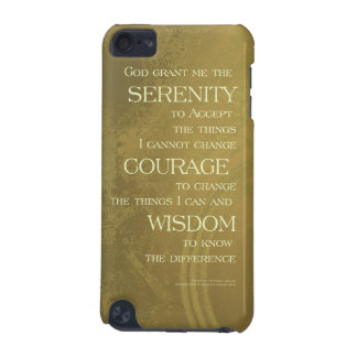 Serenity Prayer Yellow Gold iPod Touch 5G Cover