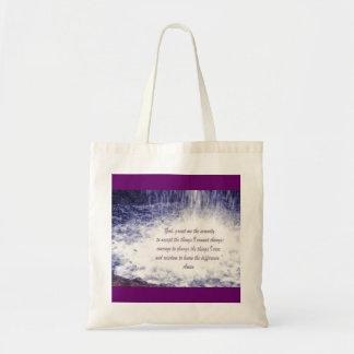Serenity PrayerTote Bag