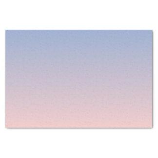 Serenity Rose Quartz Blue Pink Ombre Tissue Paper