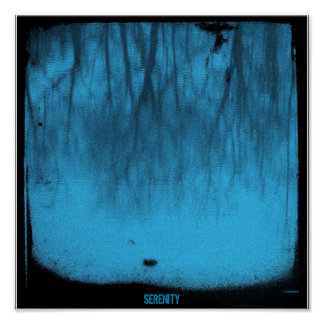 Serenity Series: The Lake Blue TTV Poster