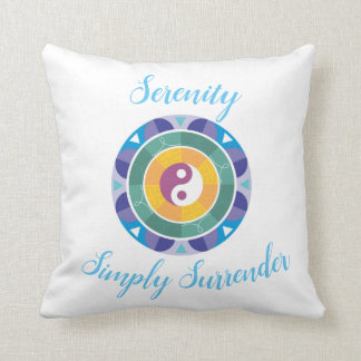 Serenity - Simply Surrender Throw Pillow