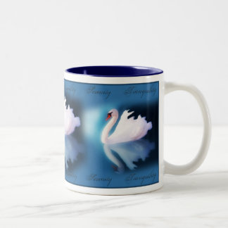 Serenity  Swan Mug