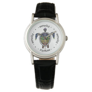 Serenity Turtle Chakras Watch