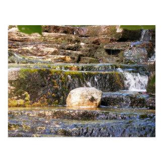 Serenity Waterfall Postcard
