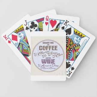 Serenity Wine III Bicycle Playing Cards