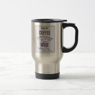 Serenity Wine III Travel Mug