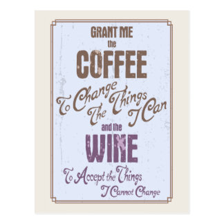 Serenity Wine Postcard