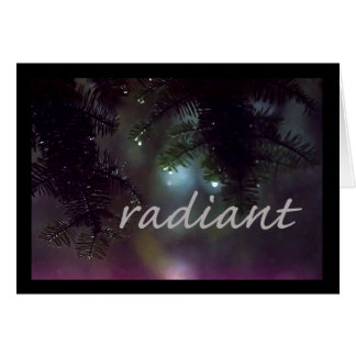 Serenity Word Drops: Radiant Card