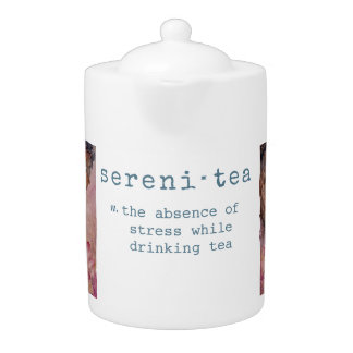 Serenity Zen Buddha Art Tea Pot