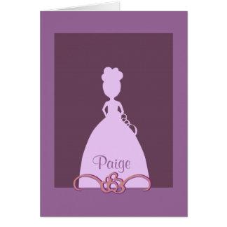 Serez-vous ma demoiselle de honneur cartes de vœux
