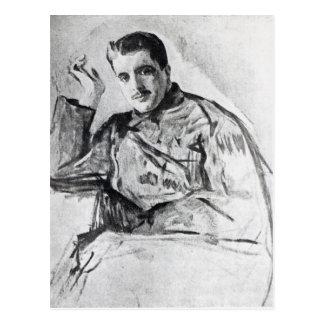 Serge Diaghilev, 1904 Postcard