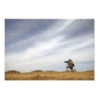 Sergeant provides security photo print