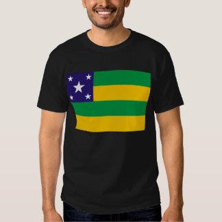 Sergipe, Brazil Flag T-shirt