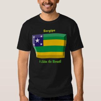 Sergipe Flag Gem T Shirts