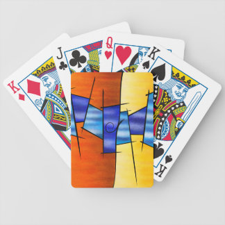 Seria Caloni V1 - the gift Bicycle Playing Cards