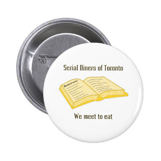 Serial Diners1 - the Phone Book 2 Inch Round Button