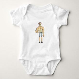 Serial Killer Dangerous Criminal Outlined Comics Baby Bodysuit