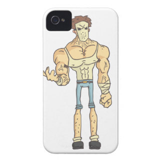 Serial Killer Dangerous Criminal Outlined Comics Case-Mate iPhone 4 Cases
