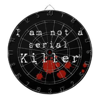 Serial Killer Dartboard With Darts