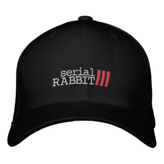 Serial Rabbit 3 Hat Embroidered Hats