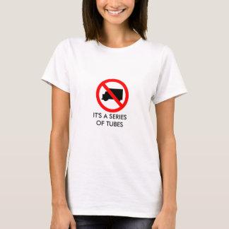 Série de tubes - Internet T-shirt