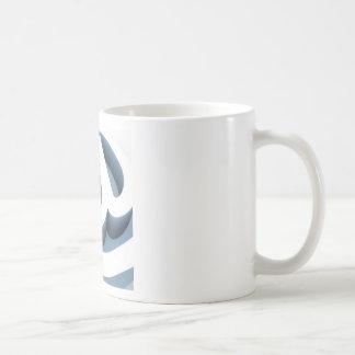 Serie @ classic white coffee mug