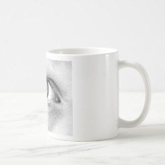 Serie Olho Branco Classic White Coffee Mug