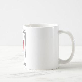 Serie Olho Classic White Coffee Mug